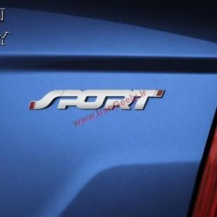 New Sport 3D Metal Badge