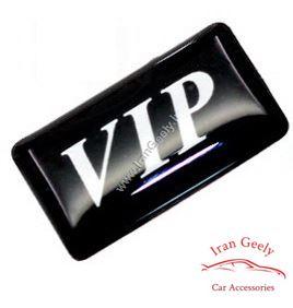 یک عدد برچسب  اپوکسی با لوگوی VIP