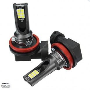 دو عدد لامپ H11  پر قدرت