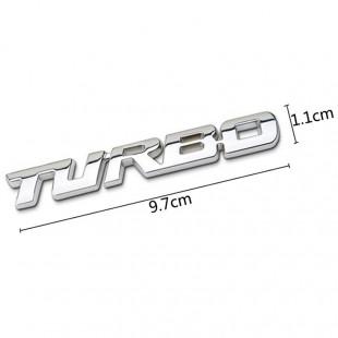 TURBO Small Metal Badges