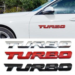 TURBO Metal Badges در ۲ رنگ