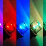 لامپ های آبی و یا سفید