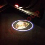 ولکام لوگو PORSCHE بصورت فابریک Boxster - Cayenne - Macan