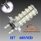 دو عدد لامپ ۶۸ اس ام دی پر قدرت H7