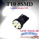 دو عدد لامپ دارای 8 اس ام دی T10