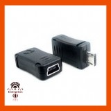 Mini USB type 'B' (5-pin) Female to Micro B Male Adapter