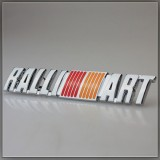 RALLI ART ABS Badges