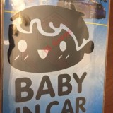 NEW Baby in Car Sticker