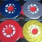 ۲ عدد کاور کاسه دیسک فلزی در ۴ رنگ