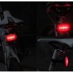 چراغ خطر عقب و چراغ جلو دوچرخه