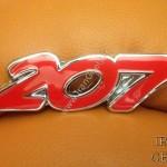 206 Metal badges