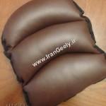 بالش چرمی کنسول وسط-شکلاتی