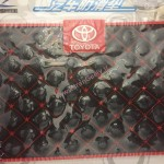New Design TOYOTA Anti Slip Logo Pad
