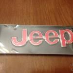 JEEP Metal Badges