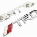 TRD ABS Badges