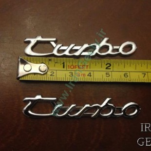TURBO Metal Tiny Badges