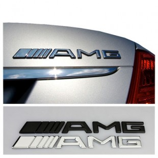 AMG Metal Badges-فلزی مشکی