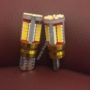 جدیدترین لامپ CANBUS دارای ۱۸ اس ام دی رنگ زرد راهنما