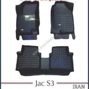 کفپوش سه بعدی فابریک جک JAC s3