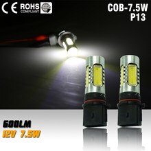 P13W 5502 led fog lamp 7.5W xenon white
