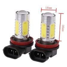 دو عدد لامپ 18 اس ام دی پر قدرت H11