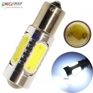 یک جفت لامپ سفید COB 1156