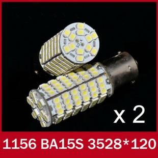۲عدد لامپ سفید دارای ۱۲۰ اس ام دی  1156