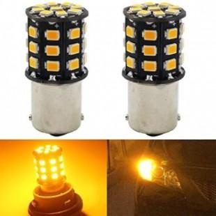 دو عدد لامپ راهنمای زرد دارای 33 اس ام دی 1156