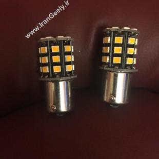 دو عدد لامپ راهنما دارای 33 اس ام دی 1156