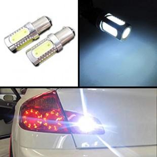 یک جفت لامپ دو کنتاکت سفید COB 1157