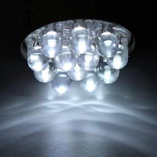 یک جفت لامپ کریستالی سفید 17 SMD فندوقی