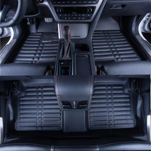 کفی سه بعدی فابریک سری 3 مشکی - BMW 3 Series