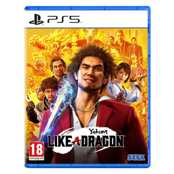بازی Yakuza: Like a Dragon برای PS5