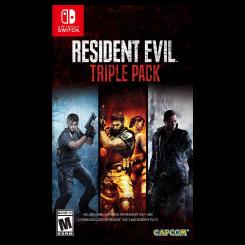 بازی Resident Evil Triple Pack برای Nintendo Switch