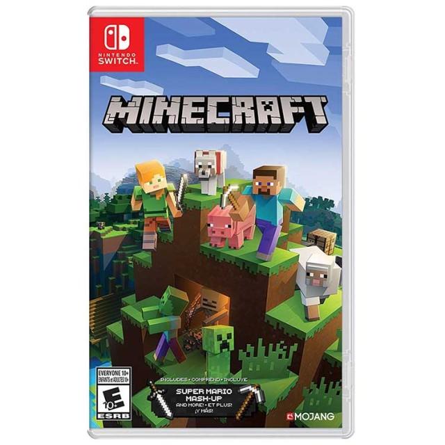 بازی Minecraft برای Nintendo Switch