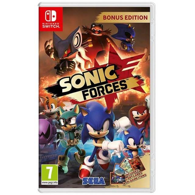 بازی SONIC FORCES برای Nintendo Switch