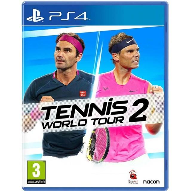 بازی Tennis World Tour 2 برای PS4