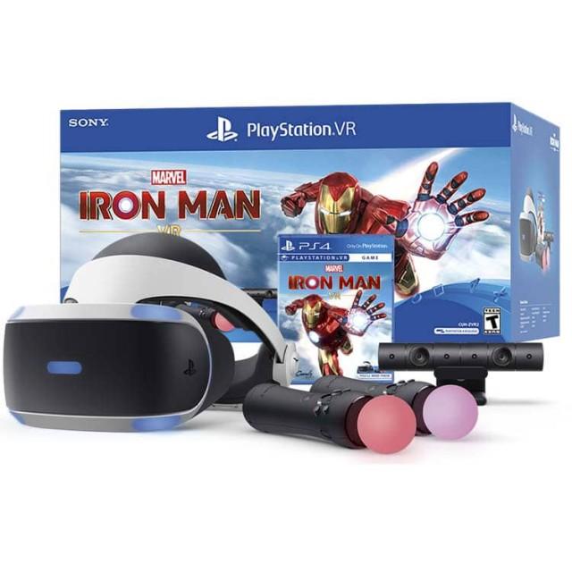 باندل عینک واقعیت مجازی سونی PlayStation VR Marvel's Iron Man – ZVR2
