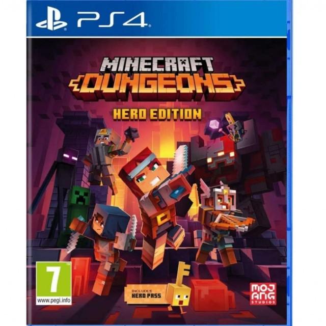 بازی Minecraft Dungeons Hero Edition برای PS4