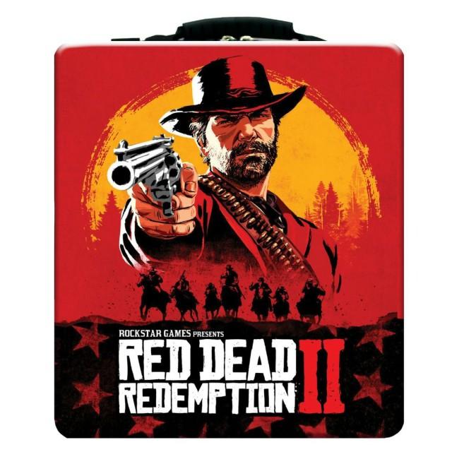 کیف حمل کنسول ps4 طرح red dead 2