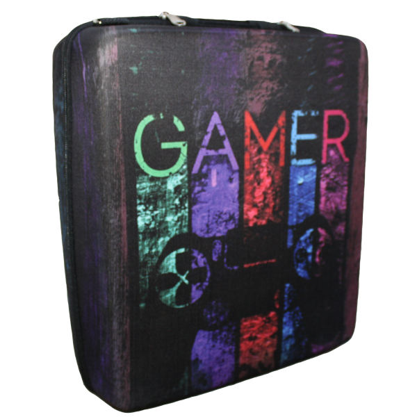 کیف حمل کنسول ps4 طرح GAMER