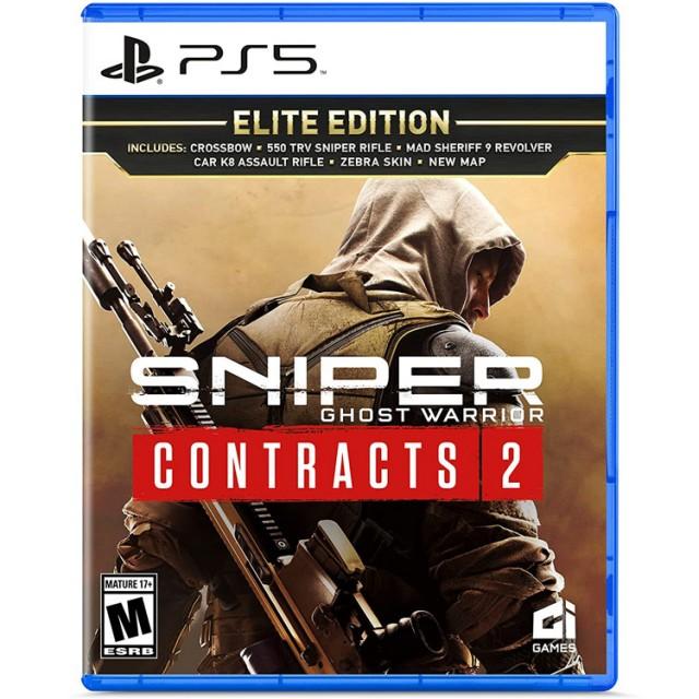 بازی Sniper Ghost Warrior Contracts 2 نسخه Elite برای PS5