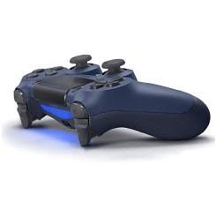 دسته بازی سونی DualShock 4 رنگ Midnight Blue