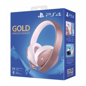 هدست گیمینگ سونی مدل GOLD مخصوص PS4 – رزگلد