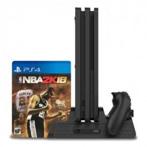پایه عمودی و شارژر PlayStation 4 برند DOBE