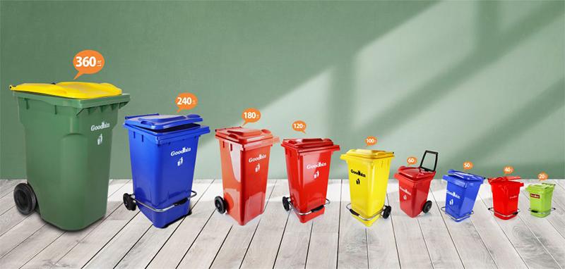 مخازن زباله صنعتی گودبین