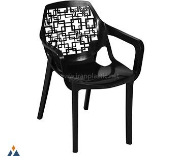 صندلی آتیلا نقش اسپیرال دسته دار هوم کت
