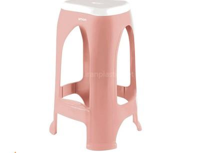 چهارپایه پلاستیکی بلند لیمون