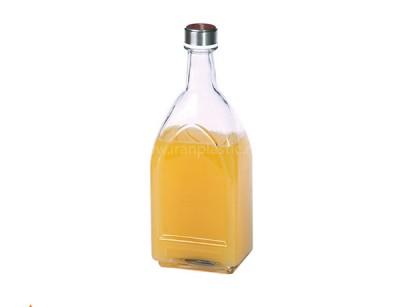 بطری کتابی درب استیل لیمون پلاستیک