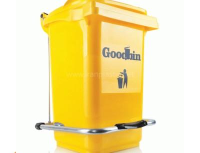 مخزن زباله صنعتی 240 لیتری پدال دار گودبین